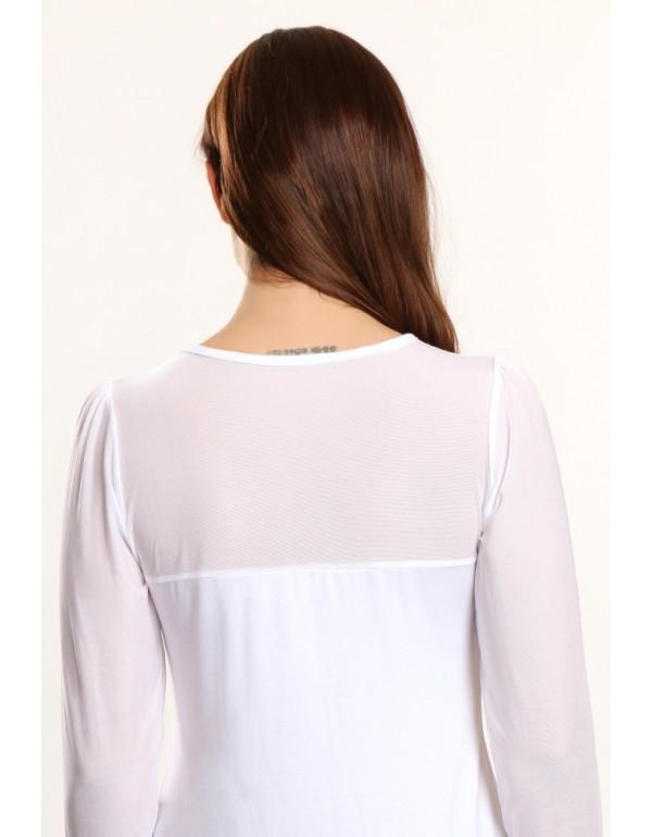 Белая блуза Elena тмViolana, Польша