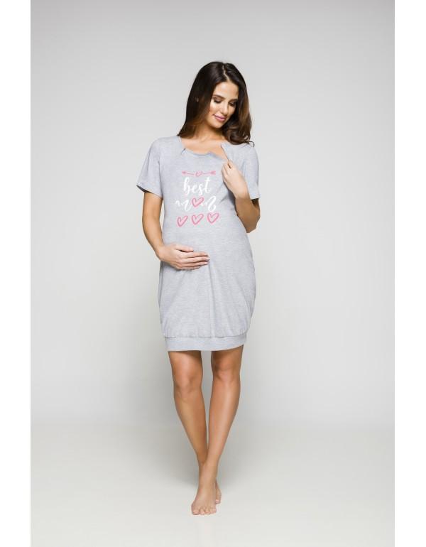 Ночная рубашка для беременных и кормящих тмRegina, Польша р. L
