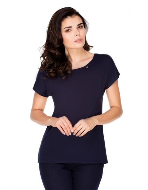 Женская вискозная футболка AIDA тмViolana, Польша
