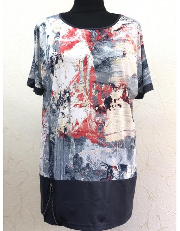 Віскозна літня блузка тмMarguerite by mako, Польща