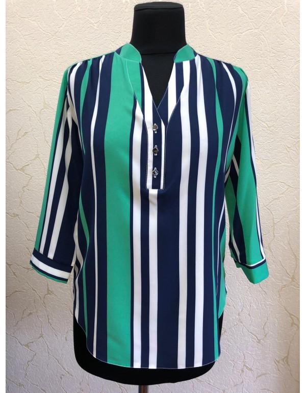 Офисная женская блузка в полоску тмBаll Collection, Польша