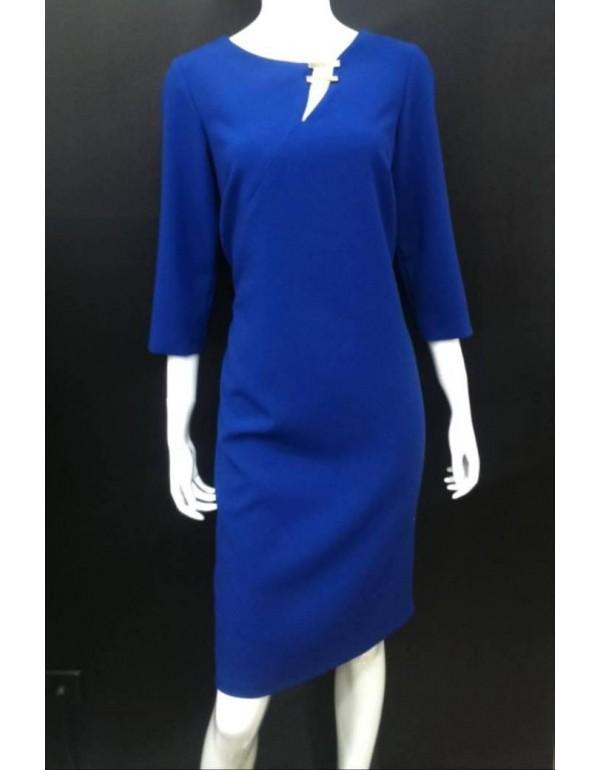 Платье классика королевский синий тмKing, Польша