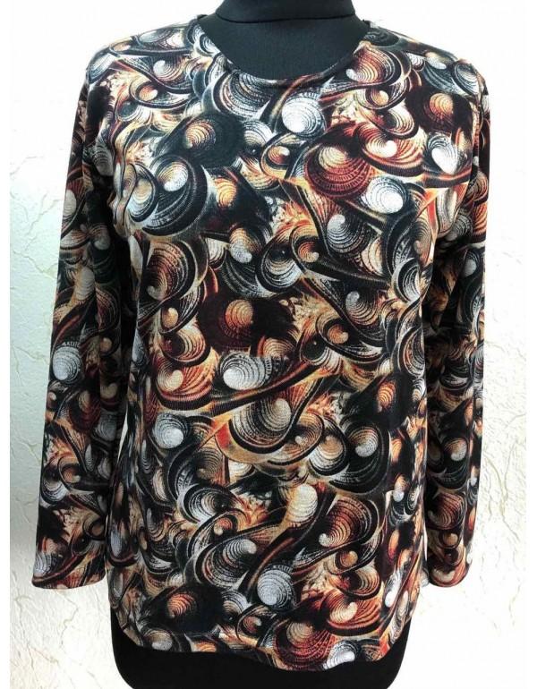 Женская трикотажная блуза от тмAGA, Польша