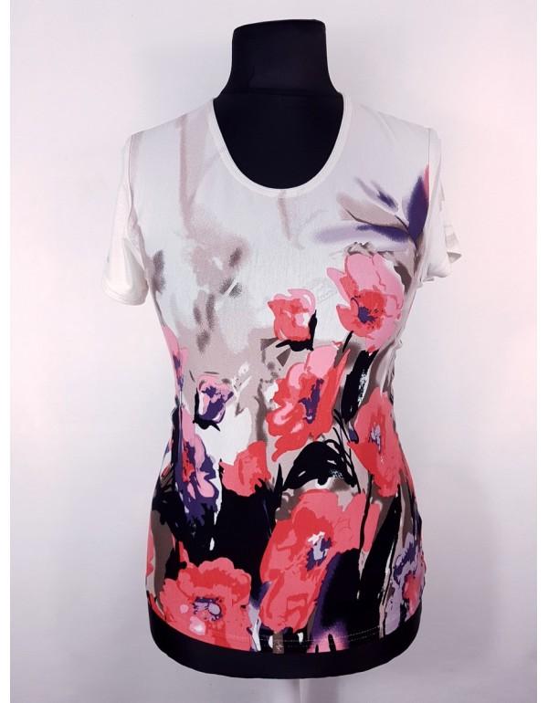 Женская блузка с цветочным рисунком тмAga, Польша