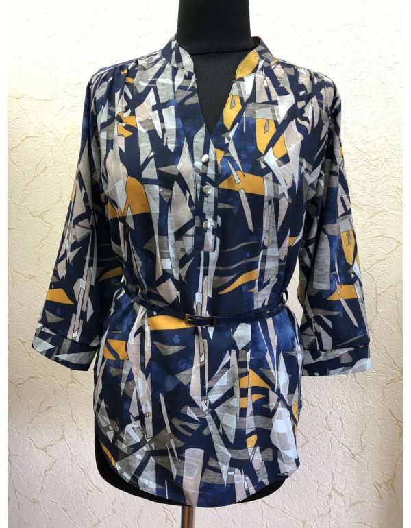 Женская блузка с оригинальным принтом от тмBаll Collection, Польша