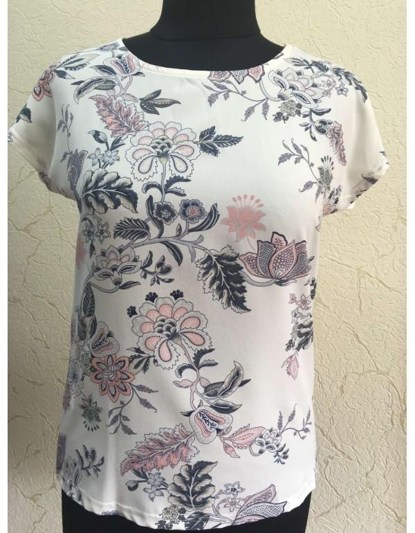 Женская блузка с цветочным принтом тмM.Hajdan, Польша