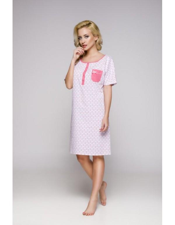 Женская ночная сорочка с коротким рукавом мод. 336 тмRegina, Польша