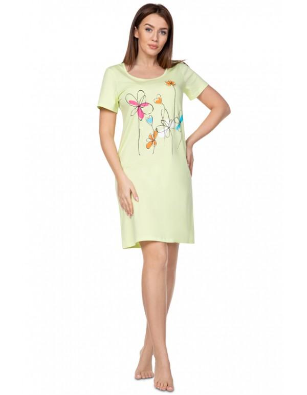 Женское домашнее платье/ночная рубашка тмRegina, Польша арт. 383 разм. 2XL