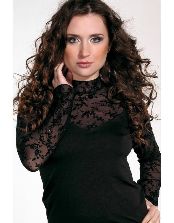 Элегантная блуза с длинным рукавом BELLA тмViolana, Польша