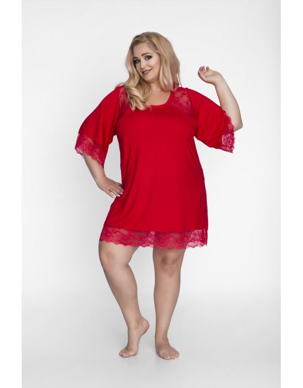 Женская ночная рубашка - туника свободного кроя от тмAkcent, Польша