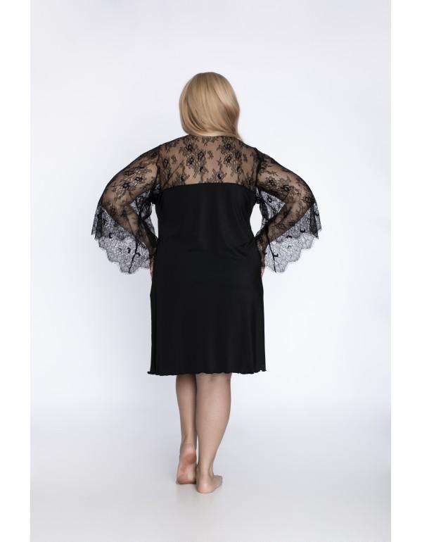 Ночная рубашка с кружевными рукавами мод. 517 тмAkcent, Польша