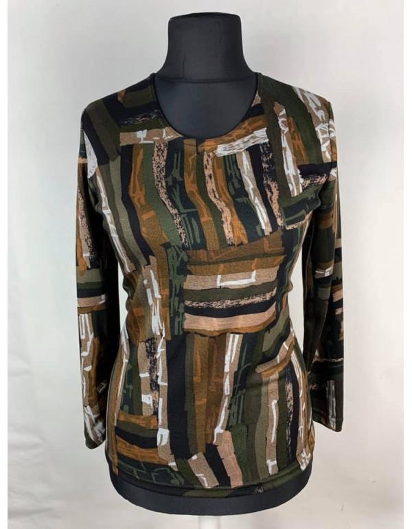 Блузка с оригинальным принтом от тмAGA, Польша
