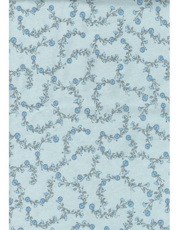 Длинная ночная рубашка голубого цвета тмRegina, Польша мод. 052