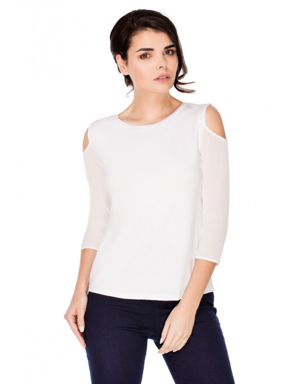 Блуза с открытым плечом COLETTE тмViolana, Польша