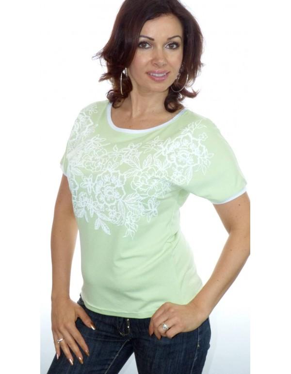 Женская вискозная футболка в размере XL  тмM.Hajdan, Польша