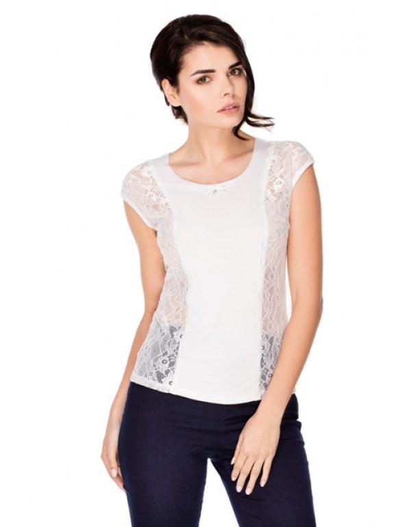 Однотонная блузка без рукава Laurel