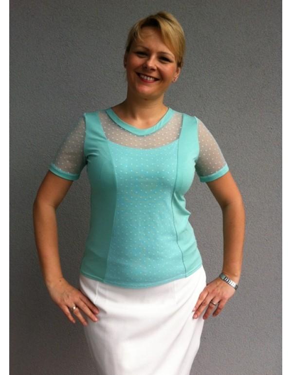 Женская вискозная блузка Bonita тмJustti, Польша р.44