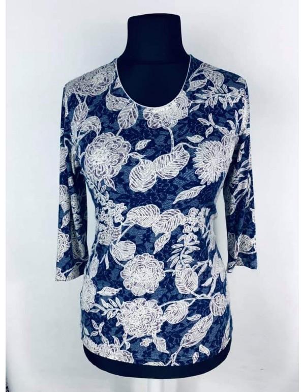 Женская блузка с цветочным принтом от тмAGA, Польша