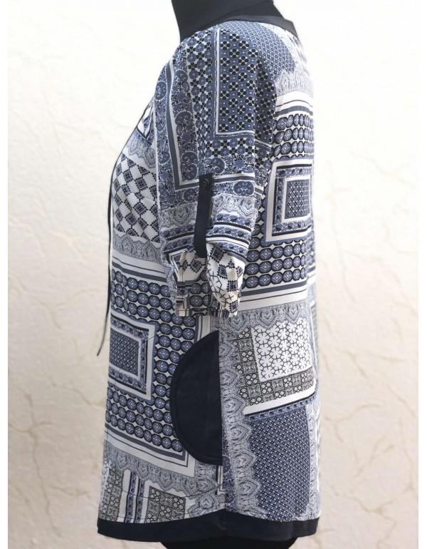 Женская блузка с боковыми карманами тмMARKMAR, Польша