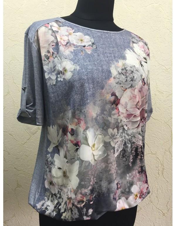 Женская блуза на резинке