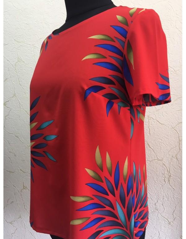 Яркая летняя блуза р. 42 от тмArigo, Польша