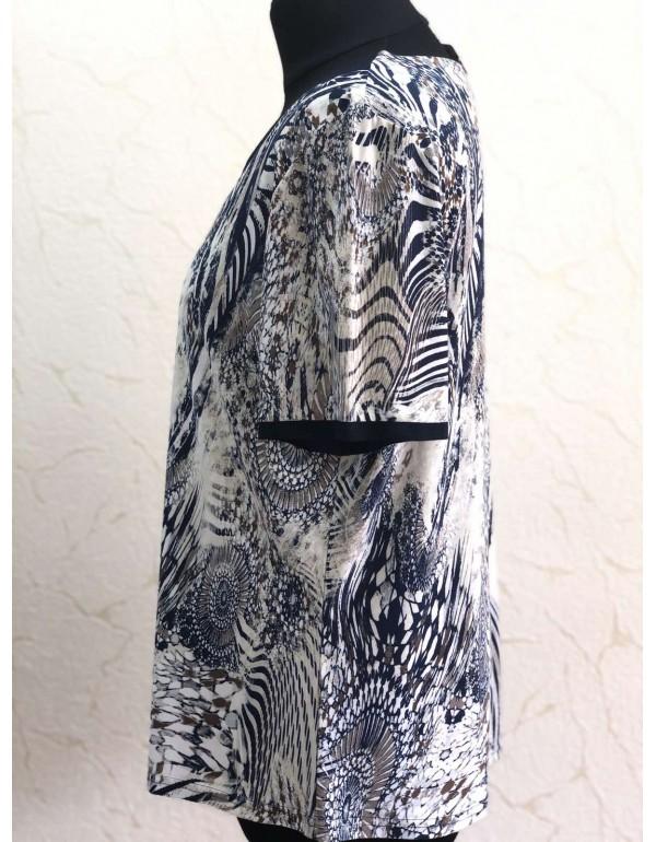 Женская блузка с коротким рукавом тмMarguerite by mako, Польша