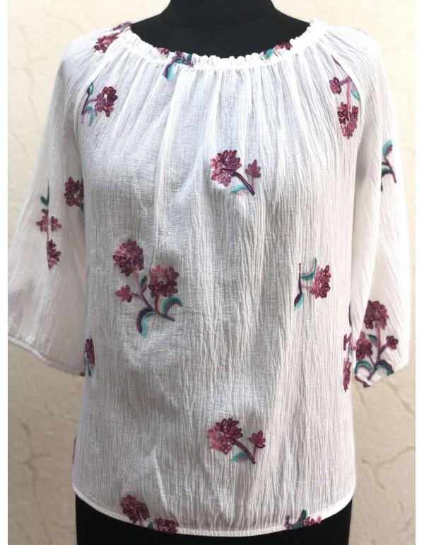 Женская хлопковая блузка тмHofPol, Польша
