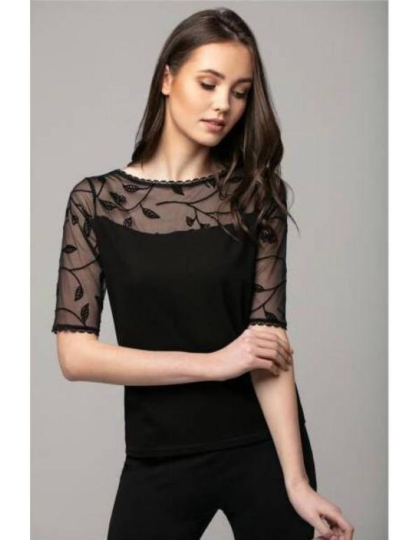 Женская вискозная блуза Lily с коротким рукавом, Польша