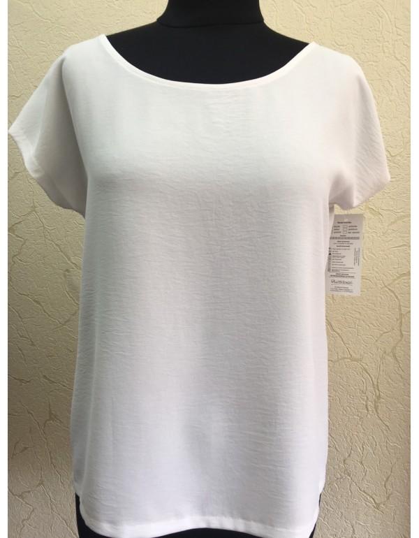 Легкая однотонная женская блузка от тмUluBione