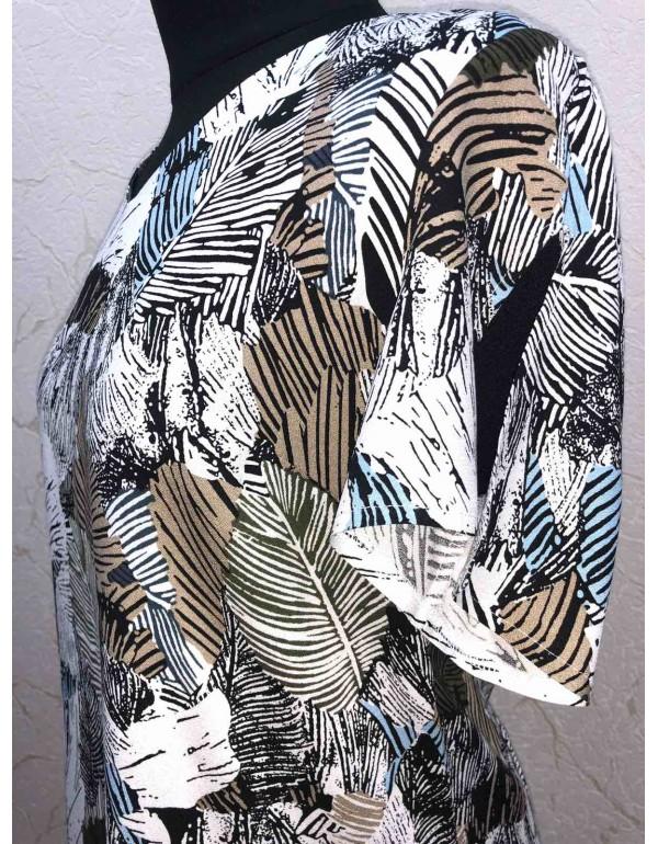 Летнее вискозное женское платье Tesa от тмLoren, Польша р.42