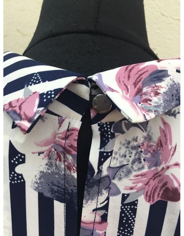 Романтичная женская блузка мод. 119