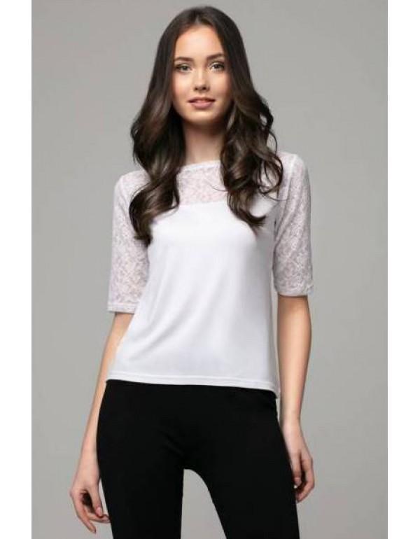 Летняя кружевная блузка Norma