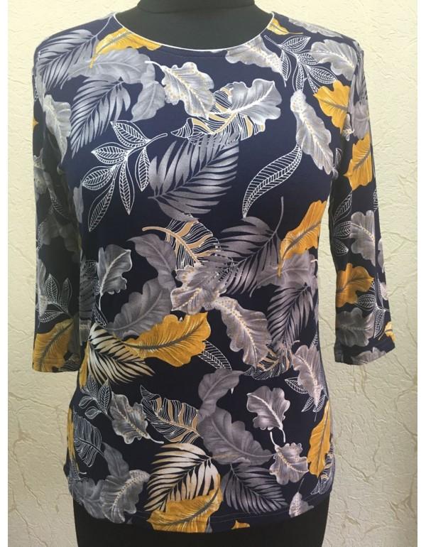 Женская вискозная блузка 3/4 рукав от тмAGA, Польша