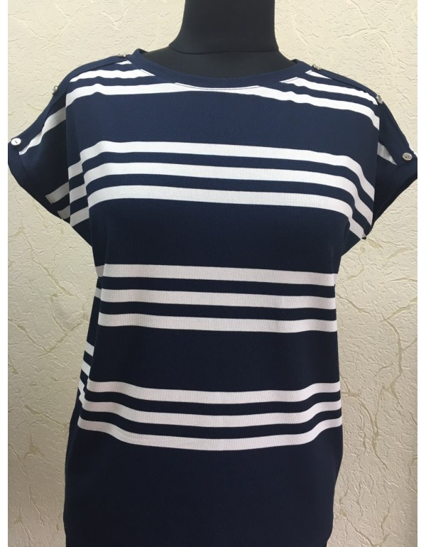 Женская блуза короткий рукав мод. 1052