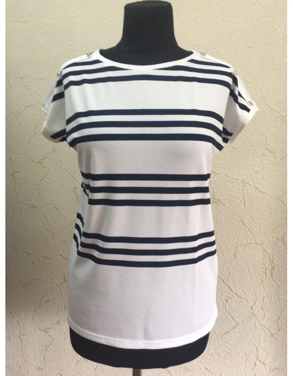 Женская блуза короткий рукав от M.Hajdan, Польша