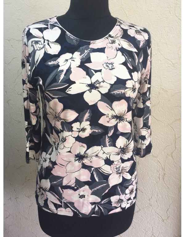 Женская мягкая блузка 3/4 рукав тмAga, Польша