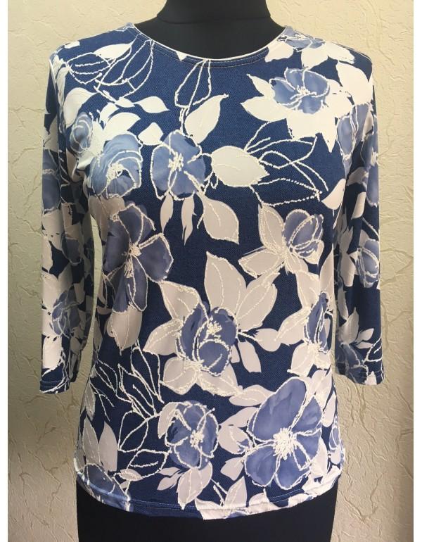 Женская блузка из трикотажа масло от тмAga, Польша