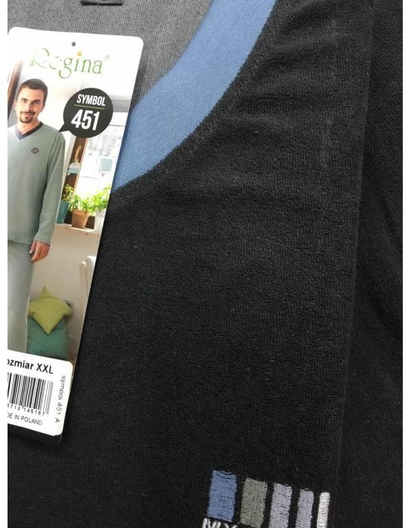 Мужская махровая пижама тм Regina