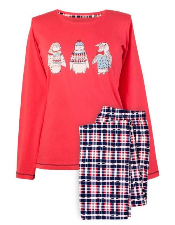 Пижама подростковая хлопок длинный рукав и штаны  тмMuzzy, Польша