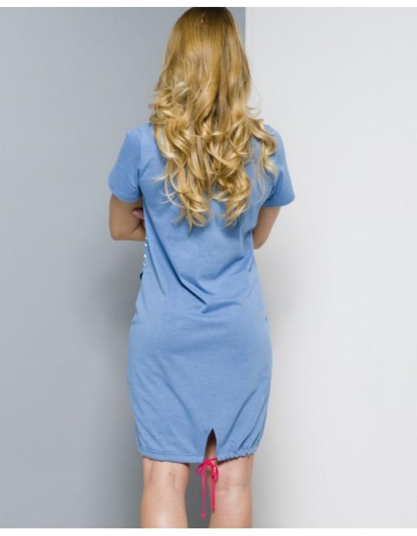 Домашнее платье  хлопок мод. 309 тмRegina, Польша