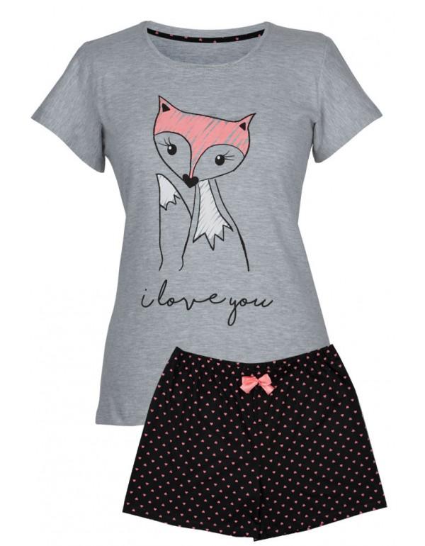 Пижама хлопковая футболка и шорты  разм. L тмMuzzy, Польша