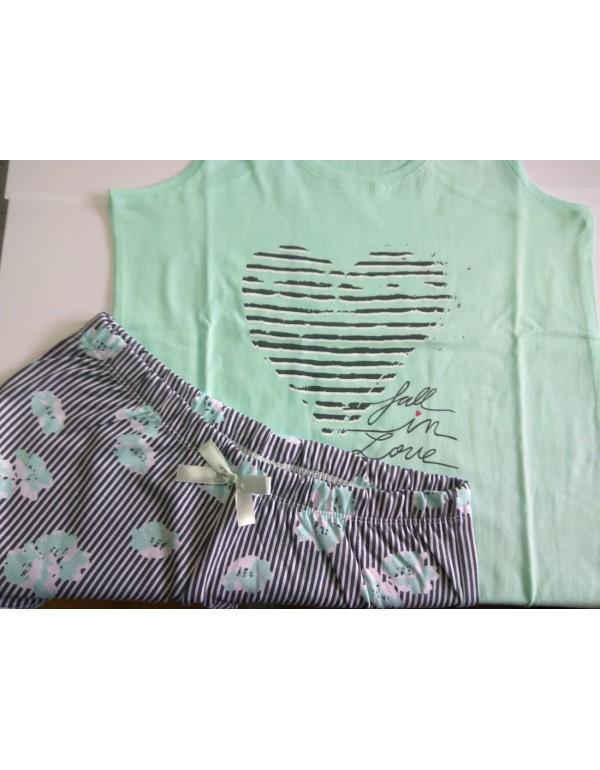 Молодежная пижама с боксеркой мод. 807-208