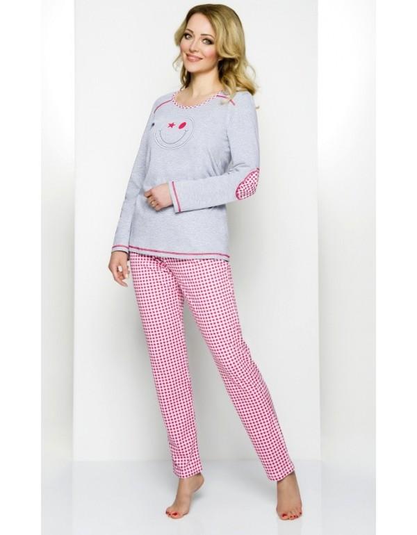 Женская пижама молодежная смайлик мод. 837