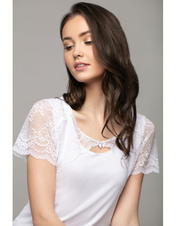 Нежная женская блузка Selena с кружевом от Violana, Польша