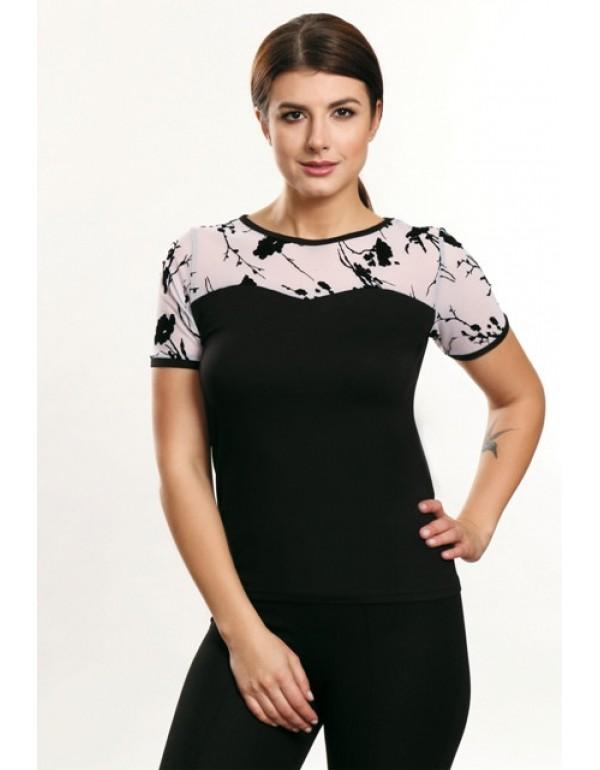 Женская блузка короткий рукав ALMA