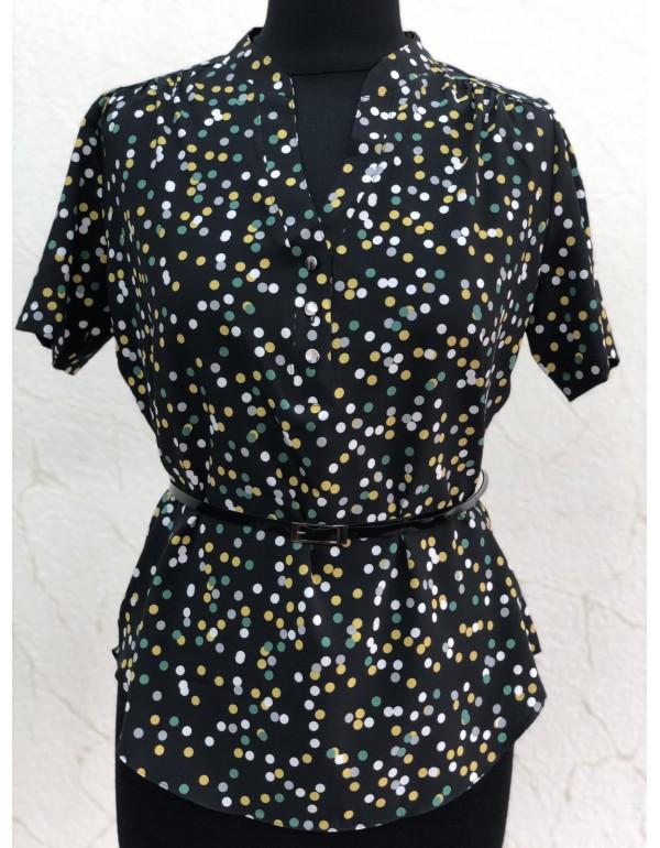 Женская блузка короткий рукав  тмBALL collection, Польша