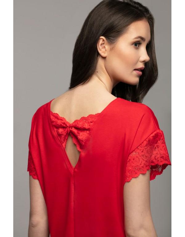 Nancy  блузка с кружевом на спине тмViolana Польша