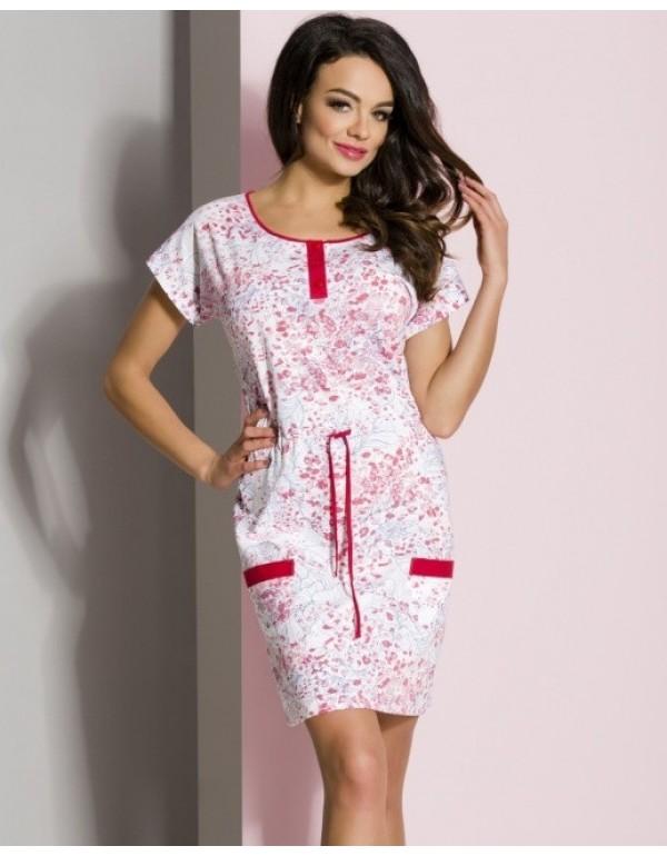 Домашнее платье ночная рубашка модель 268 р44