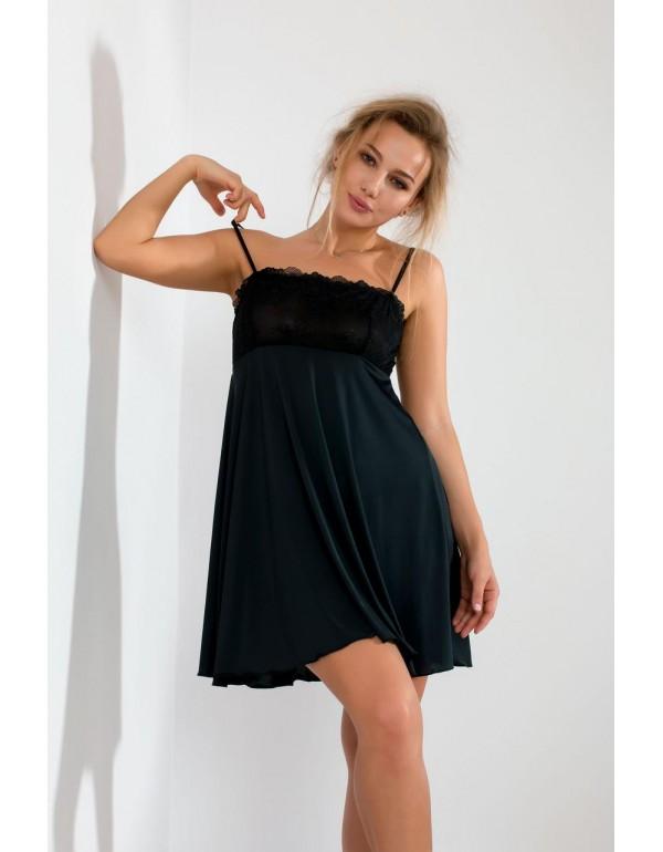 Ночная кружевная рубашка бюст бандо мод. 103