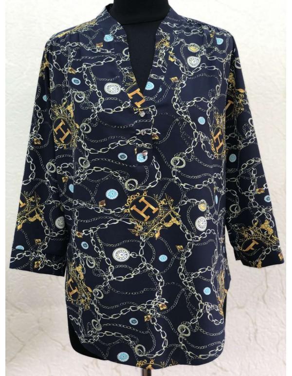 Женская блузка 3/4 рукав с рисунком тмBаllCollection, Польша